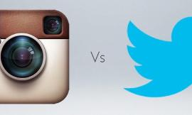 Twitter vs Instagram vs qfeast