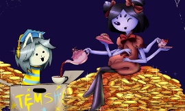 Would you have a tea party with Muffet?