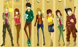 What is ur Fave Percy Jackson character? (2)