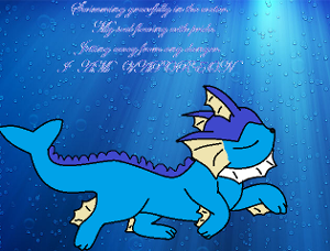 Vaporeon: What's your favorite sea creature