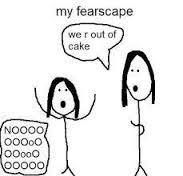 Who's Fear Landscape do they really face? (LOL @ the pic, I just found it and it was hilarious so there you go, someone's fear)