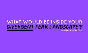 Quick recap question so you don't forget: What are the 2 ways you can choose to use to conquer the Fear Landscape?