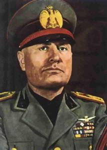 Who is Benito Mussolini?